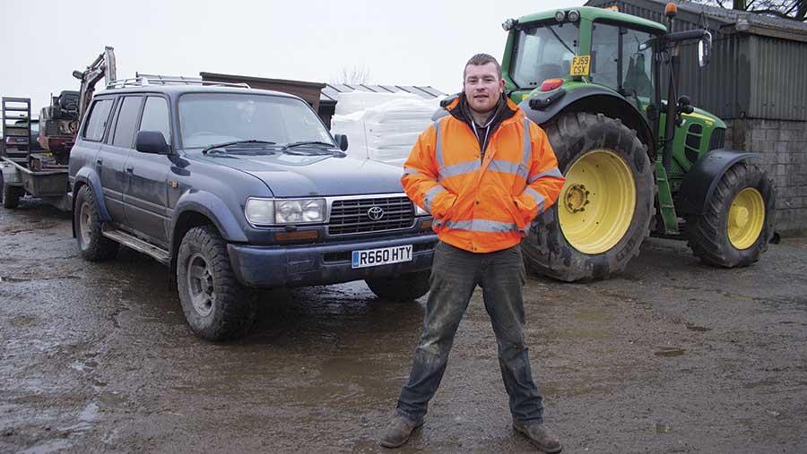 Anthony Simpson and Toyota Land Cruiser