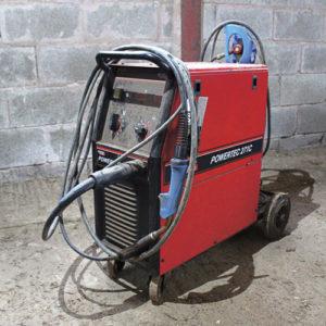 A MIG welder