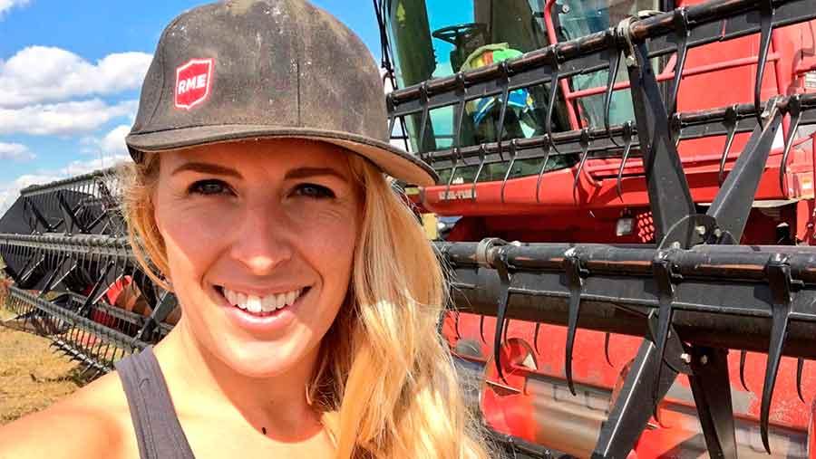 Megz Reynolds, Saskatchewan farmer