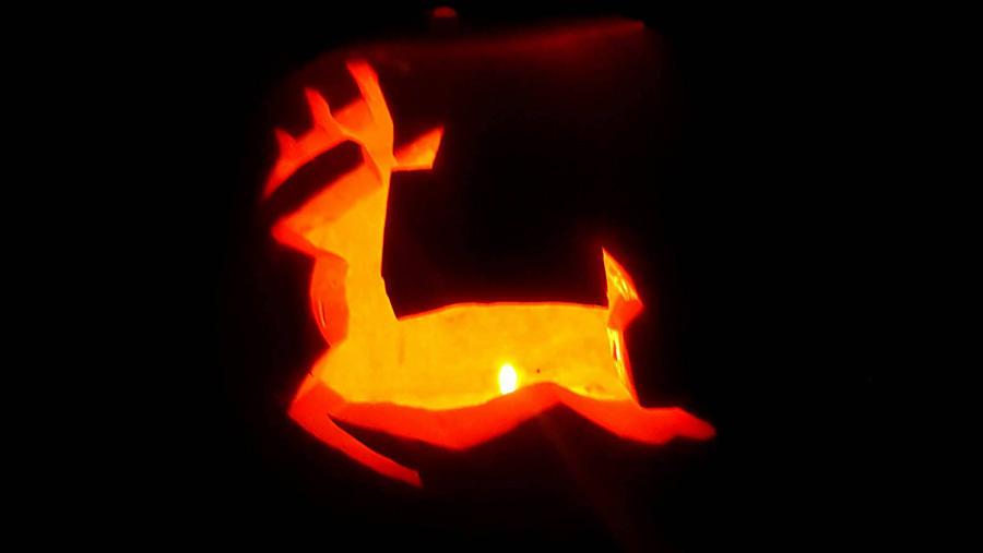 John Deere pumpkin