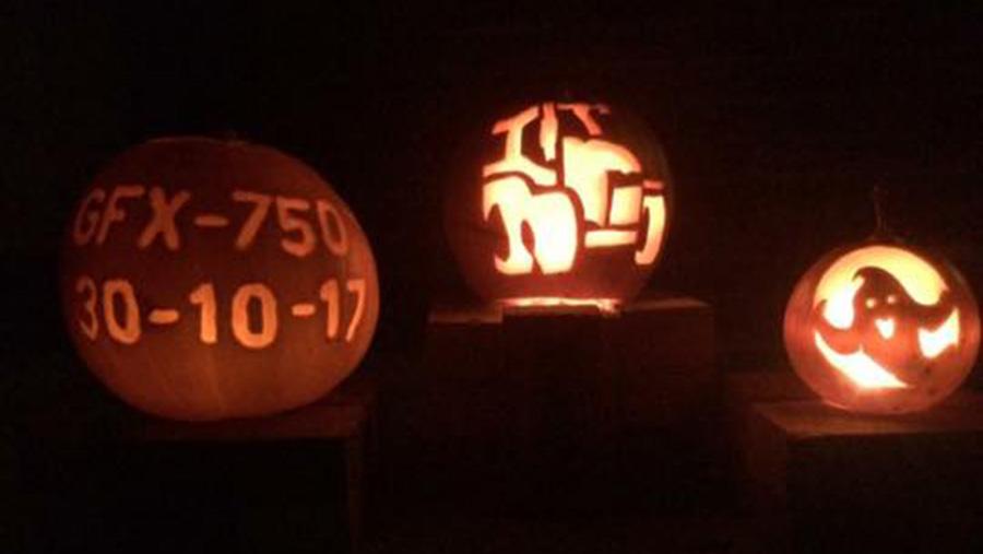 Tractor pumpkin