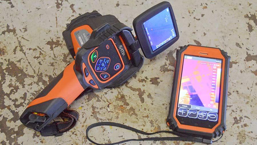 Thermal imaging equipment