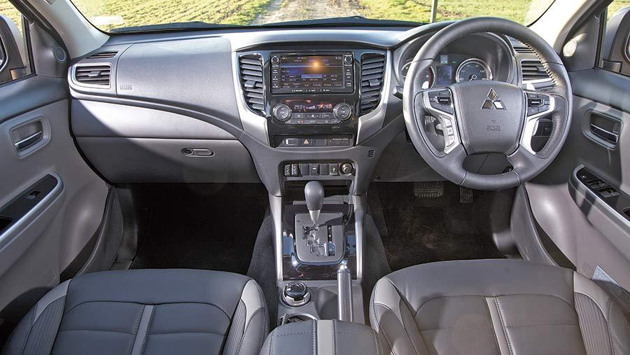 Mitsubishi Barbarian interior