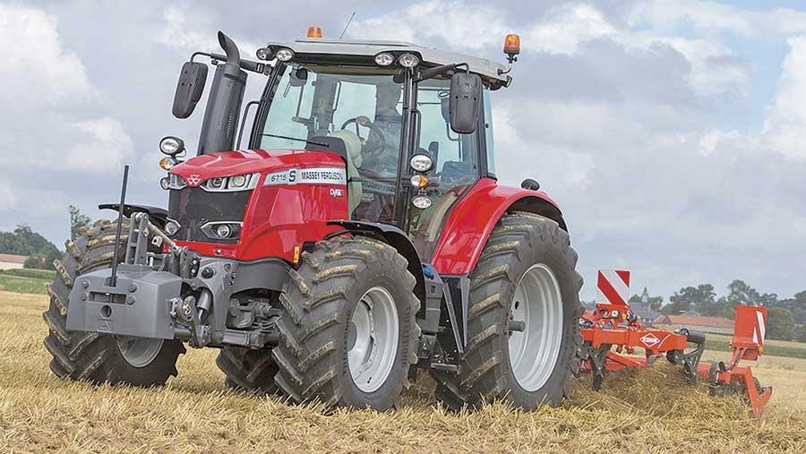 Massey Ferguson 6715 S tractor