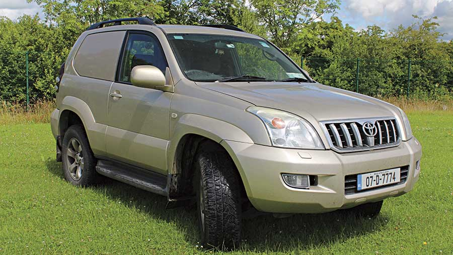 Paul Hanifan's Toyota Land Cruiser