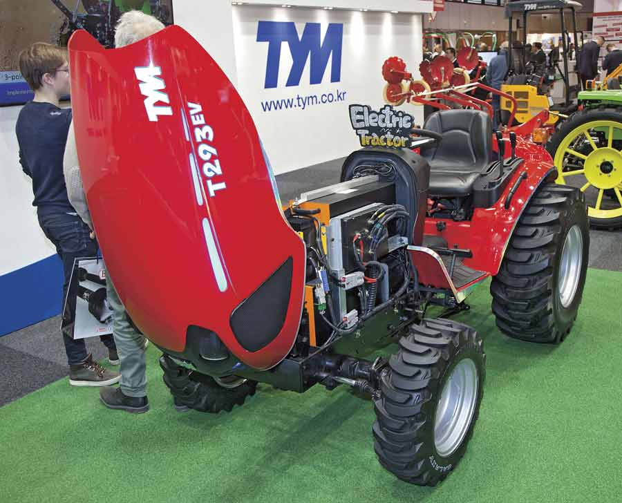 TYM electric tractor