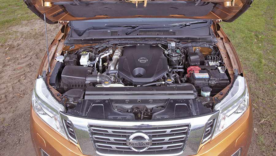 Nissen Navara engine