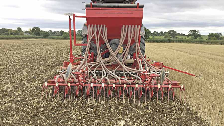 Drilling into stubbles