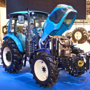 The LS Mtron XP7102 tractor