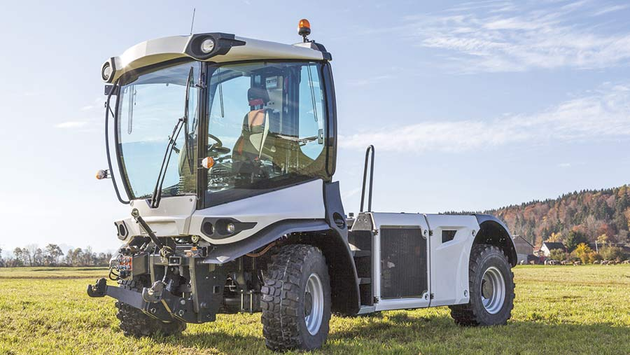 STW electric tractor