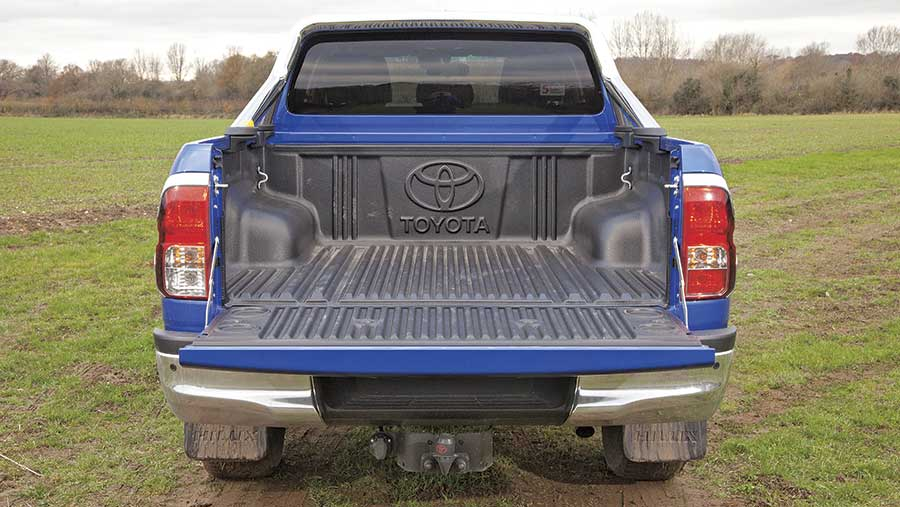 Toyota Hilux Invincible from the back