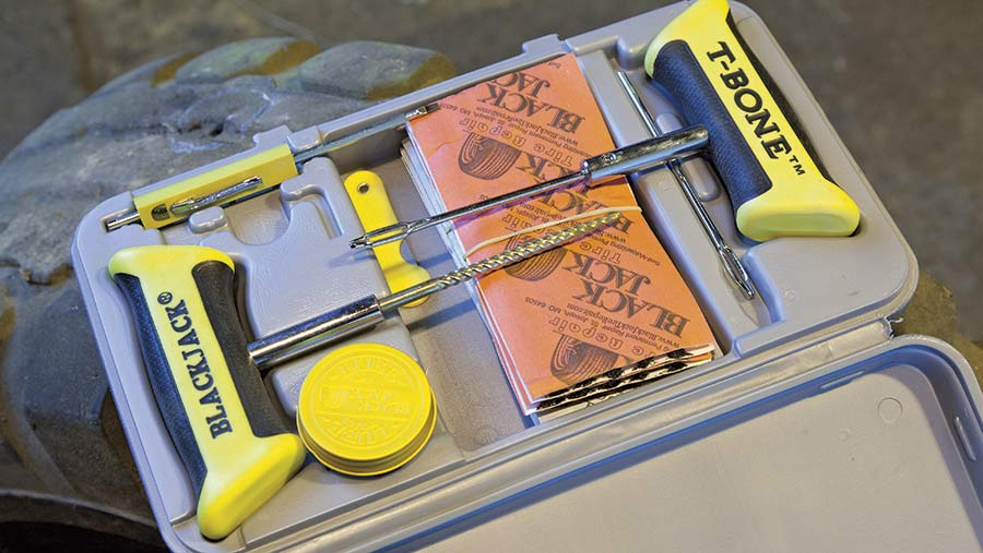 The Tyre Equipment Company heavy-duty puncture kit