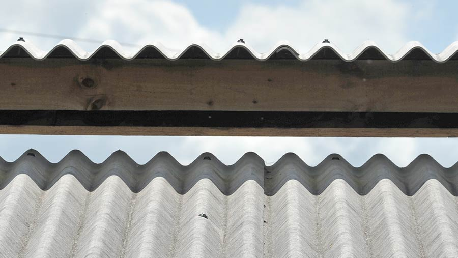 A 6in open roof ridge with a 3in gap for air circulation