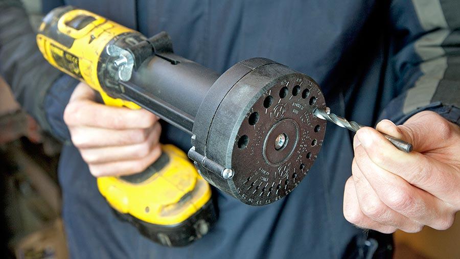 Bosch drill bit sharpener