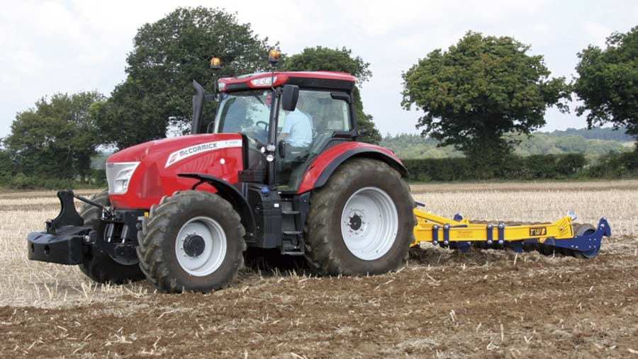 McCormick X7.650 tractor
