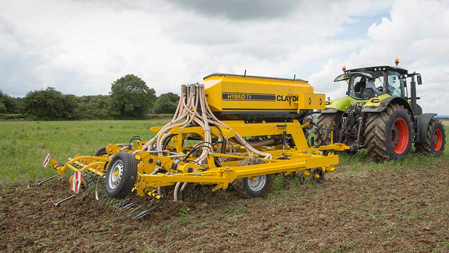 Cereal drill