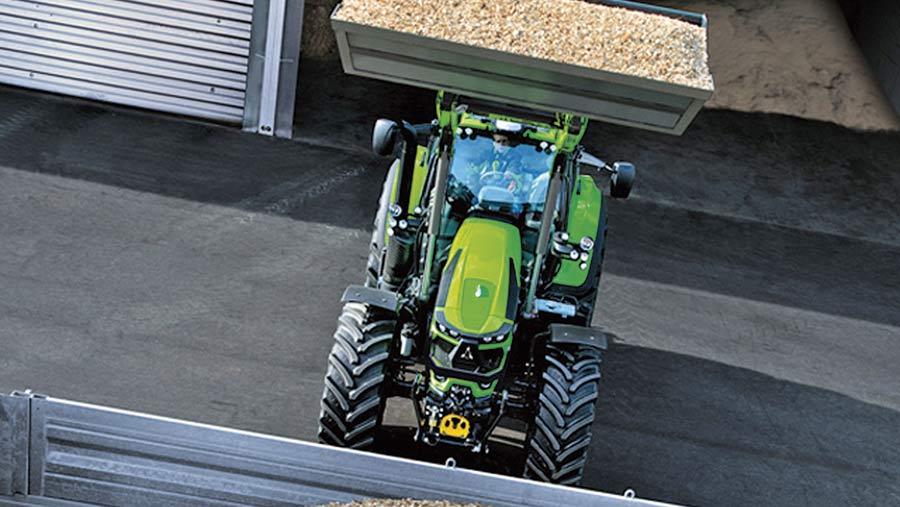 Deutz Fahr Agrotron 6155 tractor