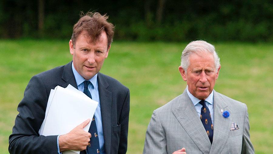 Alastair Martin and HRH Prince Charles