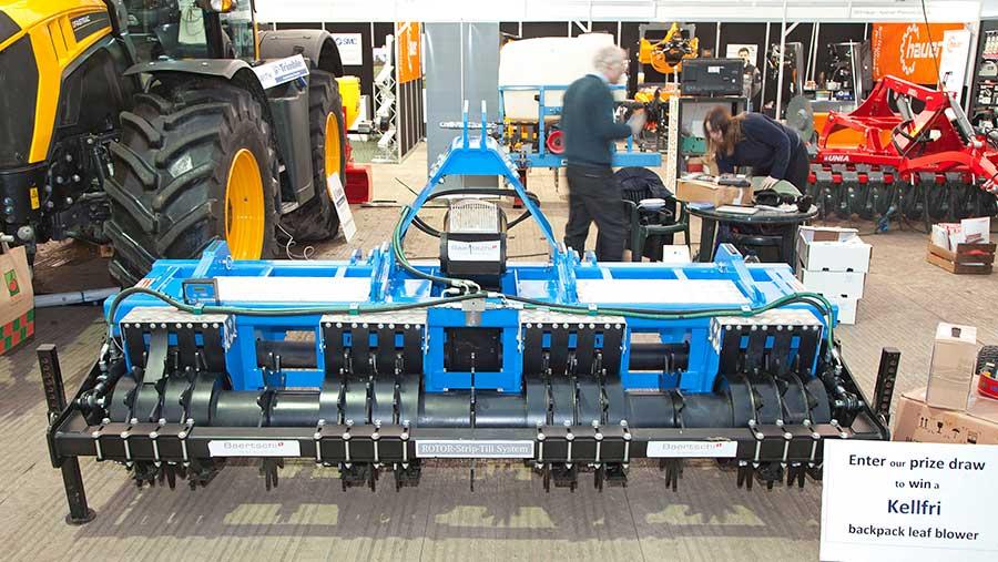 Baertschi rotor strip till