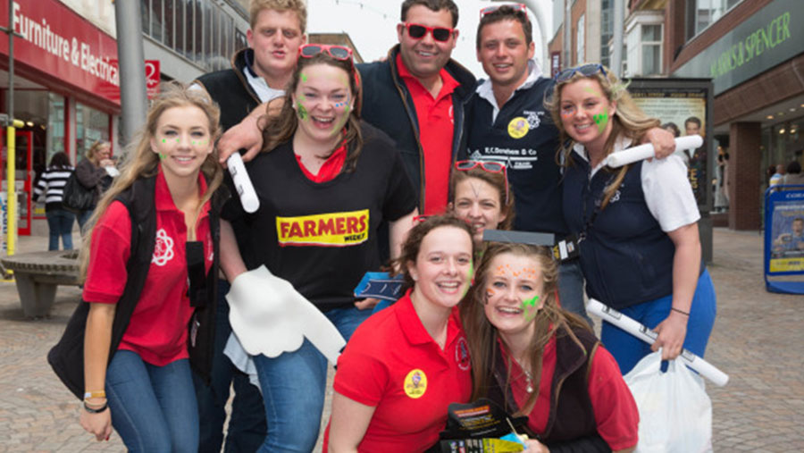 Young Farmers Club at Blackpool