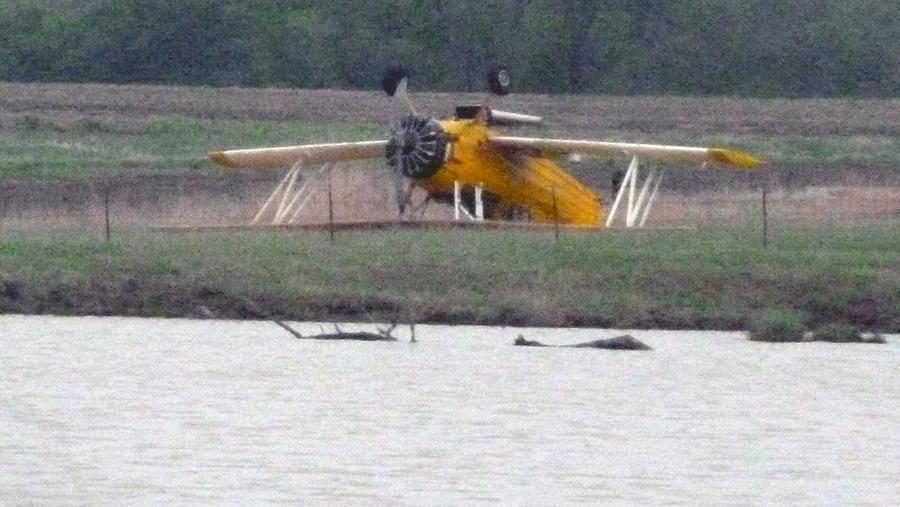 Airplane crash in Kansas