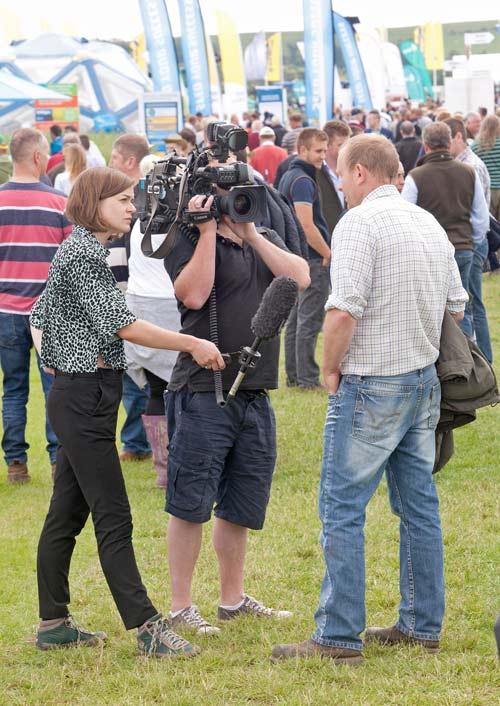 Cameraman interview at Cereals