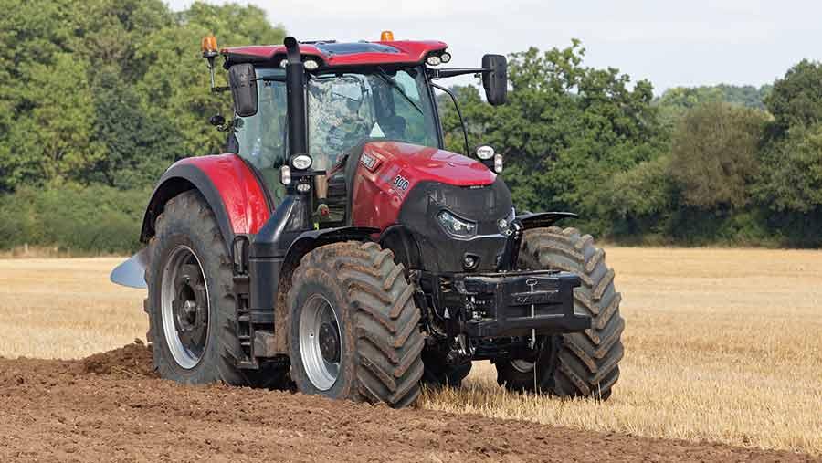 Case Optum tractor