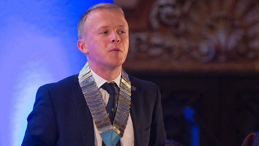 Chris Manley, chairman of NFYFC council 2016 © Tim Scrivener