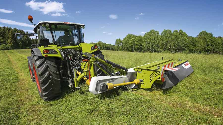 Claas Disco Max Cut mower
