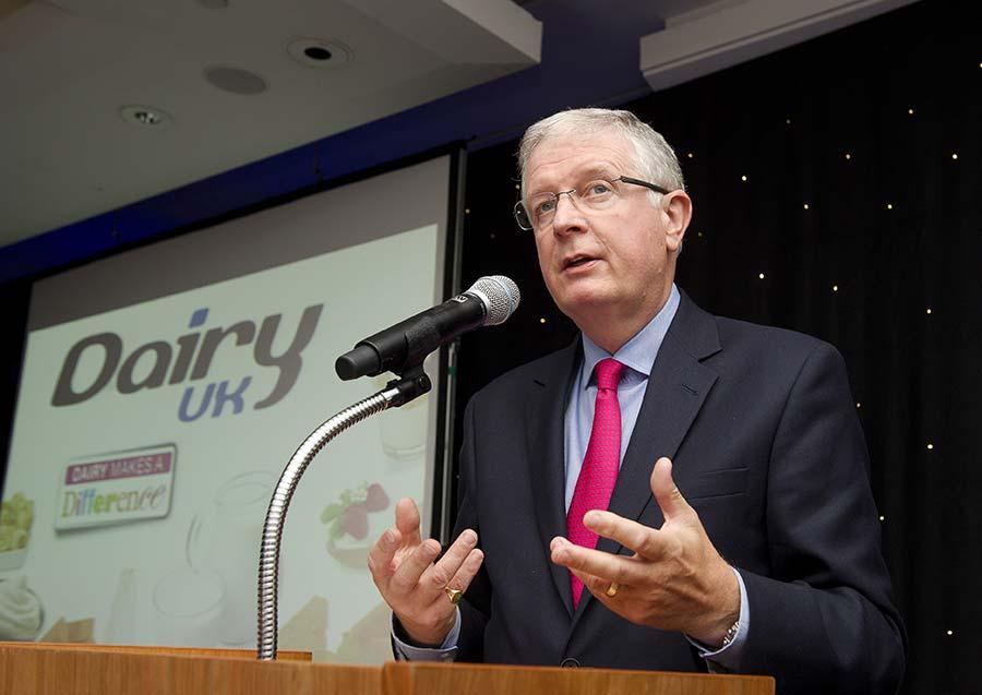 David Dobbin at Dairy UK dinner