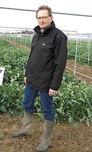 Dr Detlef Hauska, DSV senior oilseed rape breeder