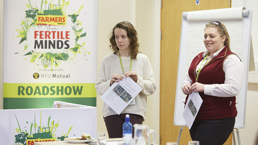 Young farmers at Fertile Minds