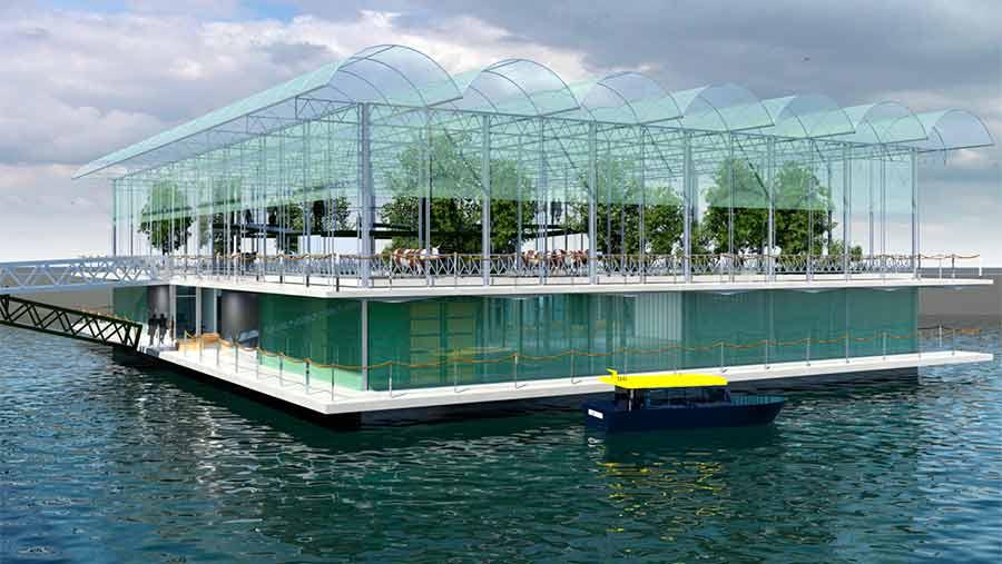 floating farm