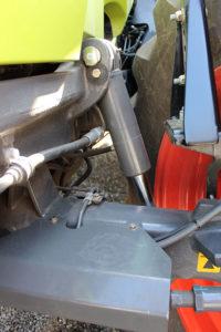 Front axle suspension