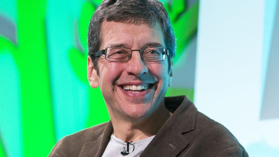 George Monbiot at the Oxford Farming Conference 2017 © DAVID HARTLEY/REX/Shutterstock