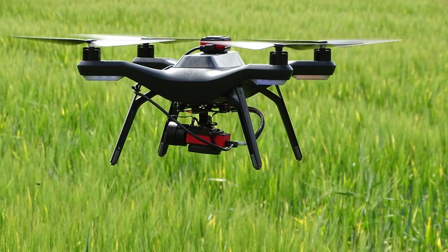 Hands Free Hectare drone © Hands Free Hectare