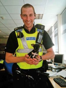 jack in his policeman days
