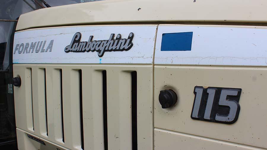 Lamborghini Formula 115 badge