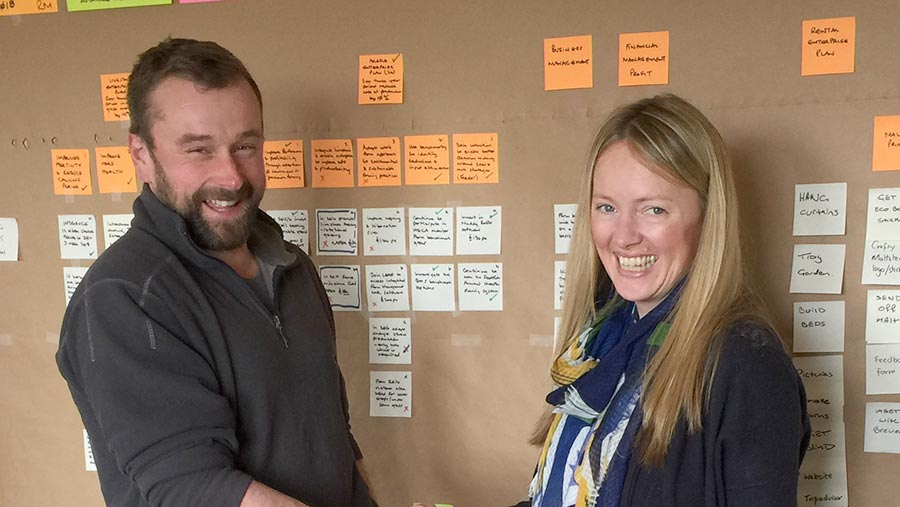 Danny and Alison Milne lean management