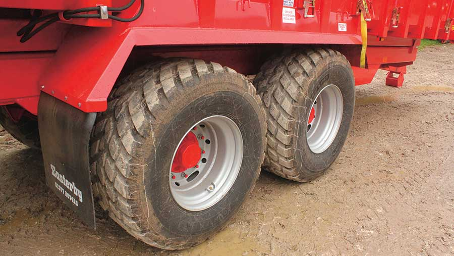 Low pressure tyres