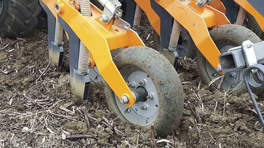Mzuri dual-row coulter
