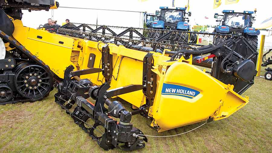 The New Holland double-cut system