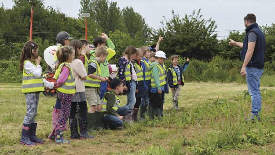 open farm school day