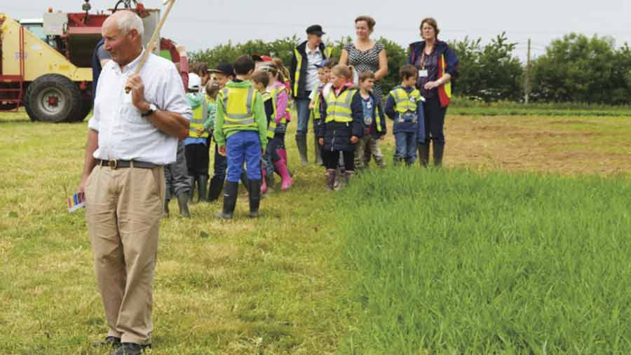 open farm school day outing