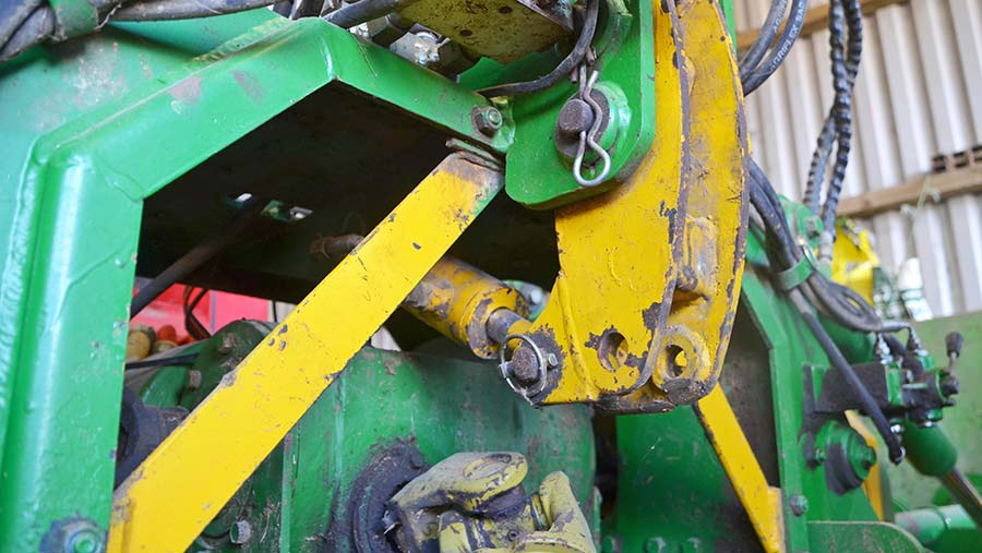 Close up of the Rotaseeder