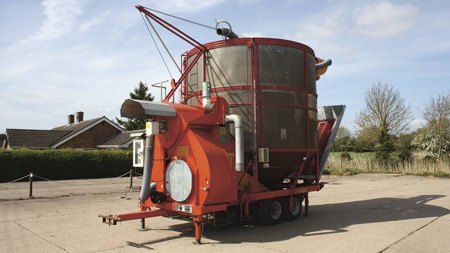 2007 Opico 20t drier