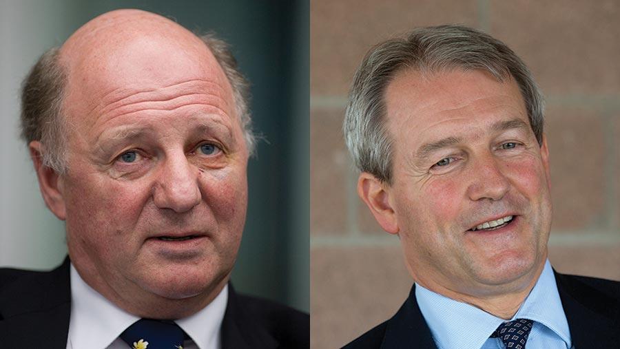Sir Jim Paice and Owen Paterson