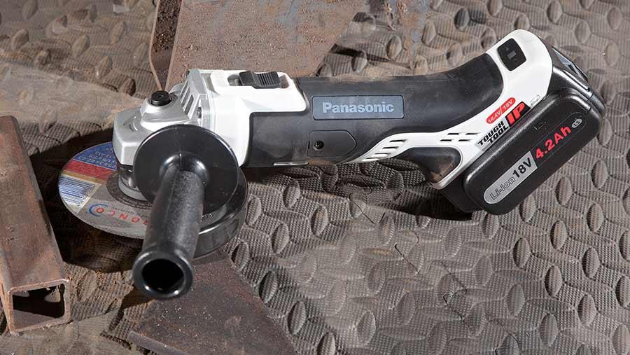 Panasonic angle grinder