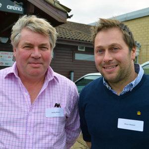 Shaun Watson (right) with his father Philip © David Jones/RBI