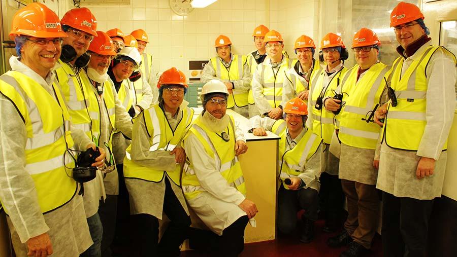 Potato roundtable delegates visit a factory © Jim Robbins